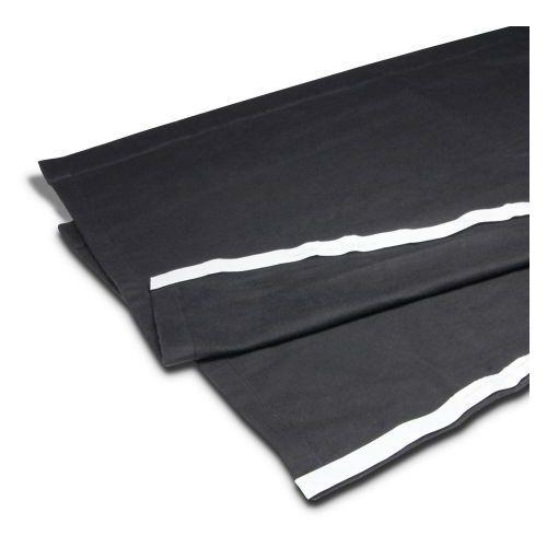accessories 0153 x 206 - molton sceniczny b1 z taśmą na rzepy, 2 x 0,6 m marki Adam hall