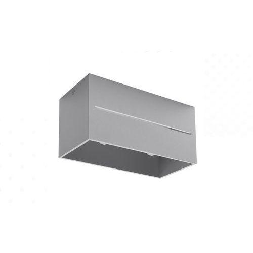 Sollux Spot plafon lobo maxi sl.0385 oprawa sufitowa 2x40w gu10 szary (5902622428840)
