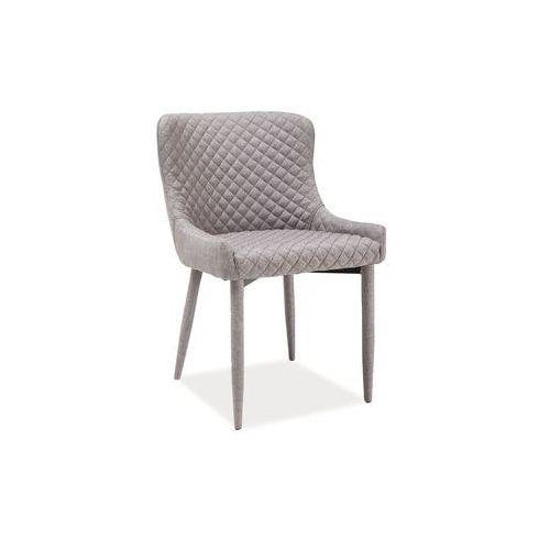 Krzesło metalowe SIGNAL COLIN denim, SN-COLIN-denim
