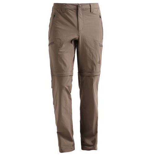 The north face exploration spodnie materiałowe weimaraner brown