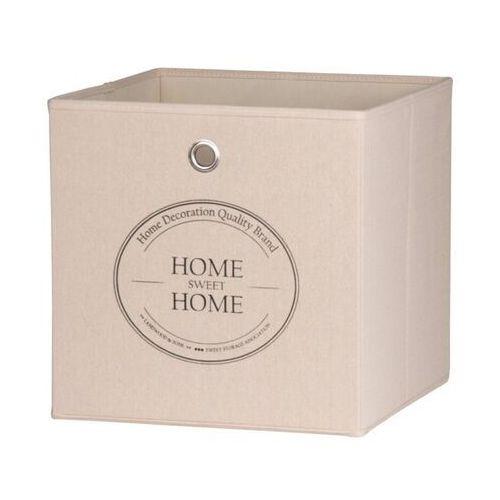 Kolorowe pudło home sweet home do regałów max