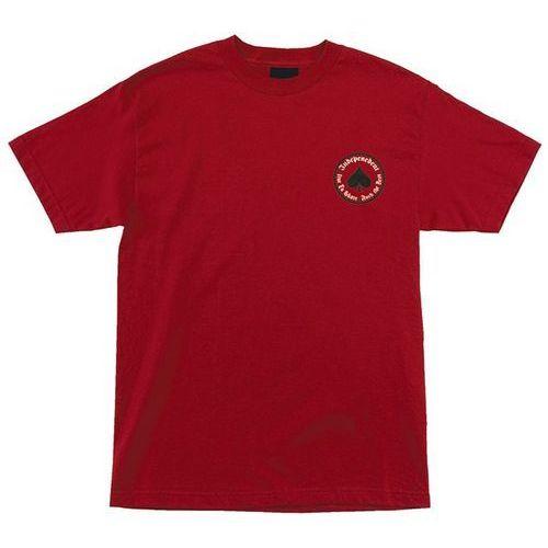 Koszulka - thrasher oath regular t-shirt cardinal (101266) rozmiar: xl marki Independent