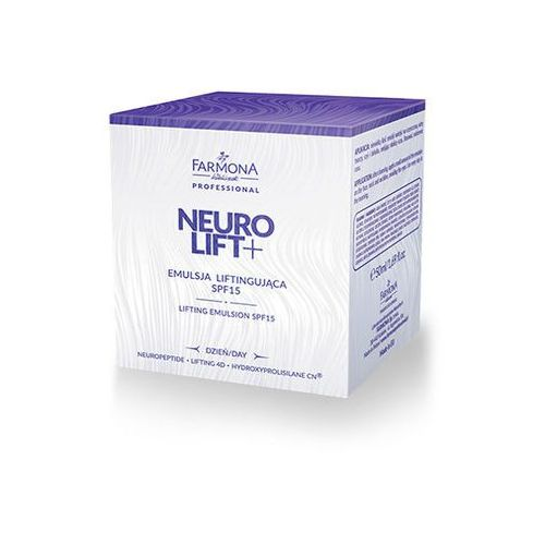 FARMONA Neurolift+ Emulsja Liftingująca SPF15 50ml - EMULSJA 50ML (5900117002698)