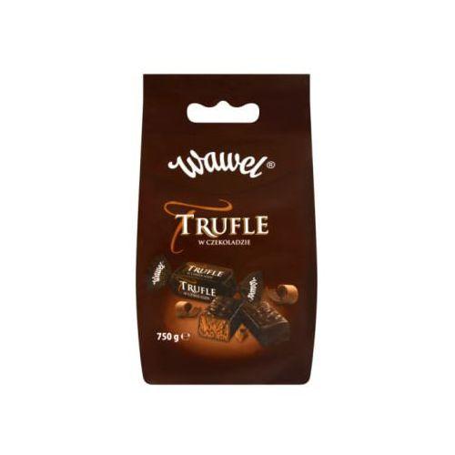 Trufle w czekoladzie cukierki o smaku rumowym marki Wawel