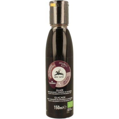 Alce nero (włoskie produkty) Krem na bazie octu balsamicznego z modeny bio 150 ml - alce nero