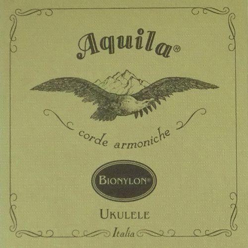 Aquila BioNylon Nylgut Ukulele single, Tenor, 4th low-G, powlekana
