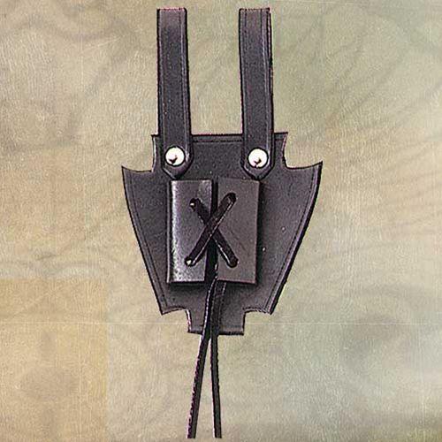 Żabki do sztyletu - skóra (ws200276) marki Płatnerze