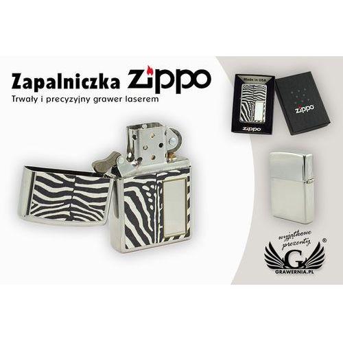 Zapalniczka Zippo Zebra High Polish Chrome