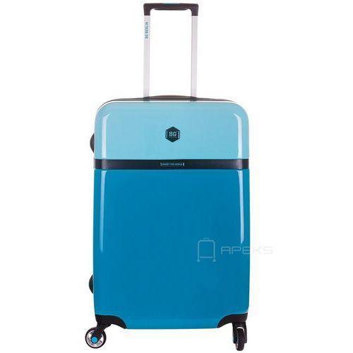 tri colors walizka lekka średnia podróżna 65 cm / tropic ocean - tropic ocean marki Bg berlin