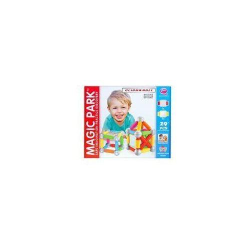MC Klocki magnetyczne 29 elementów Maxi MEGA CREATIVE 419125