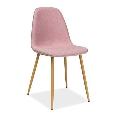 Krzesło Dual Różowy, kolor różowy