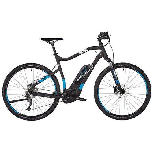 """sduro cross 5.0 rower elektryczny crossowy czarny 48cm (28"""") 2018 rowery elektryczne marki Haibike"""