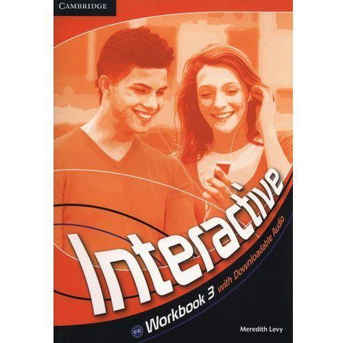 Interactive 3 Workbook (zeszyt ćwiczeń) with downloadable audio (lp) (kategoria: Nauka języka)