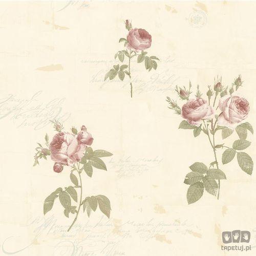 Galerie Tapeta ścienna w kwiaty fleurs et toiles cg28861  bezpłatna wysyłka kurierem od 300 zł! darmowy odbiór osobisty w krakowie., kategoria: tapety