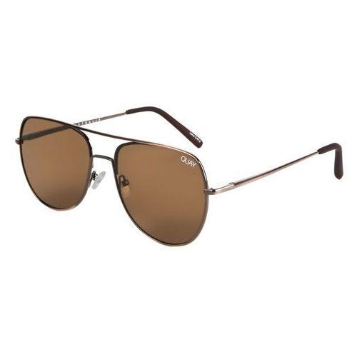 Okulary słoneczne qm-000200 living large brnz/brn marki Quay australia