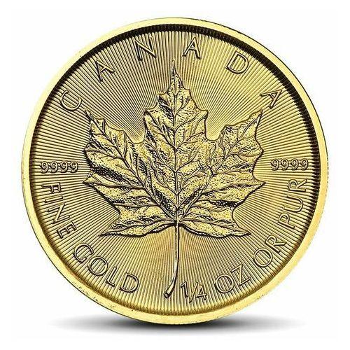 Kanadyjski Liść Klonowy 1/4 uncji złota - 15dni