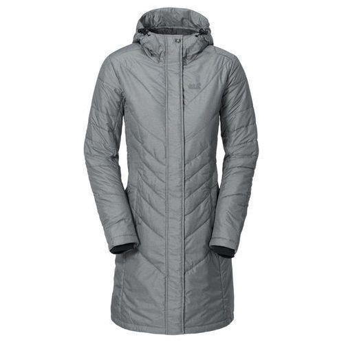 Płaszcz crystal iceguard women - dark grey heather marki Jack wolfskin