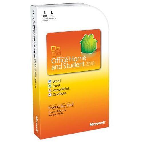 Microsoft Office Home & Student 2010 DE z kategorii Programy biurowe i narzędziowe