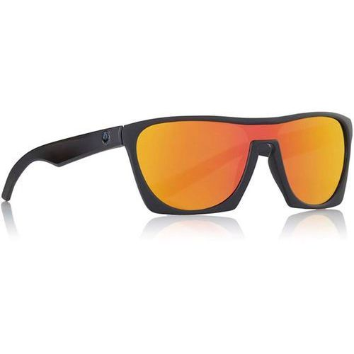 Dragon Okulary słoneczne - classy ion matte black orange ion (005) rozmiar: os