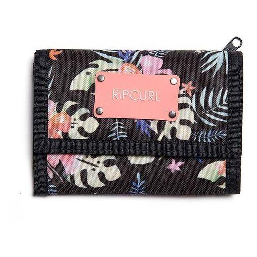 Rip curl Portfel - toucan flora surf wallet black (90) rozmiar: os