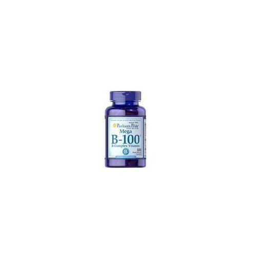Puritan's Pride Mega B-100 B-Complex Vitamin 100caps