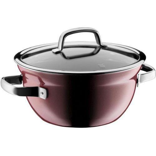 - garnek/miska do gotowania z pokrywką fusiontec mineral, różowy kwarc marki Wmf