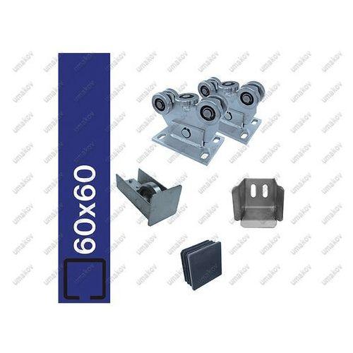 Osprzęt bram-ECO profile 60x60mm