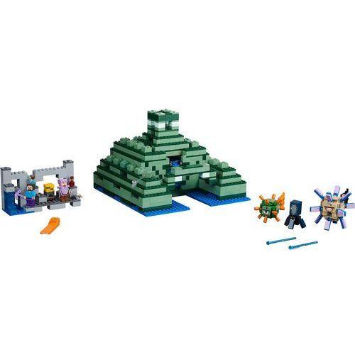 21136 - OCEANICZNY MONUMENT (The Ocean Monument) - KLOCKI LEGO MINECRAFT. Najniższe ceny, najlepsze promocje w sklepach, opinie.