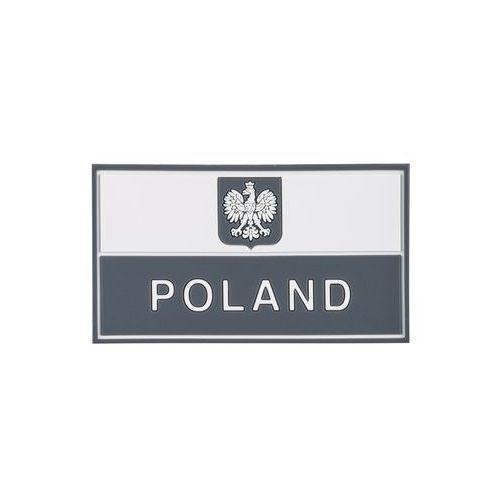 Emblemat Flaga PL z godłem (90 x 50 mm) Gaszona (OD-P29-RB-19) (5902688043902)