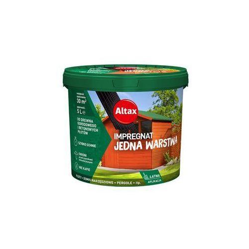 Altax Impregnat Do Drewna Ogrodowego 5L Kasztan (5900172801694)