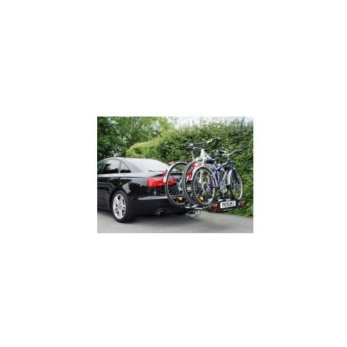 Składany bagażnik na rowery EUFAB PREMIUM III, uchwyt na hak + torba, kup u jednego z partnerów