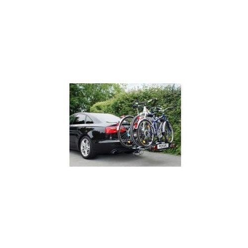Składany bagażnik na rowery premium iii, uchwyt na hak + torba marki Eufab