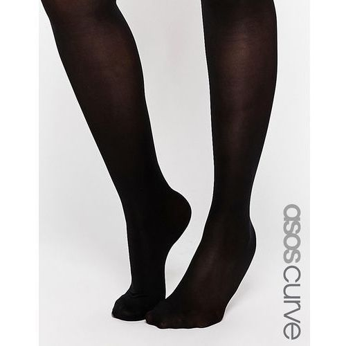 60 denier tights with bum tum and thigh support - black od producenta Asos curve