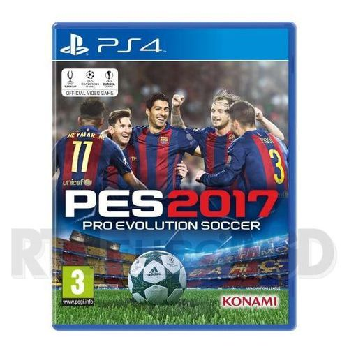 Konami Pro evolution soccer 2017 - produkt w magazynie - szybka wysyłka! (4012927102435)