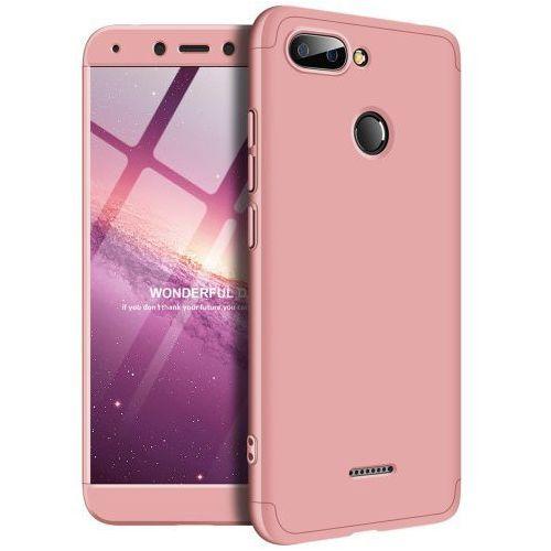 9f39e89e6aa73f Etui 360 3w1 Przód+tył Xiaomi Redmi 6 Różowe, kolor różowy na Fuksik.pl