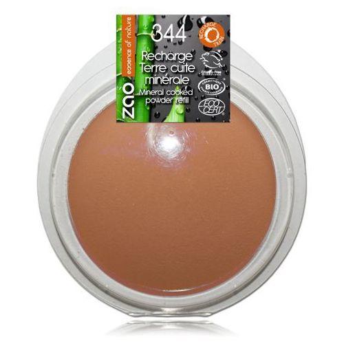 Zao - make up organic Puder brązujący zao - wkład - 344 - czekoladowy