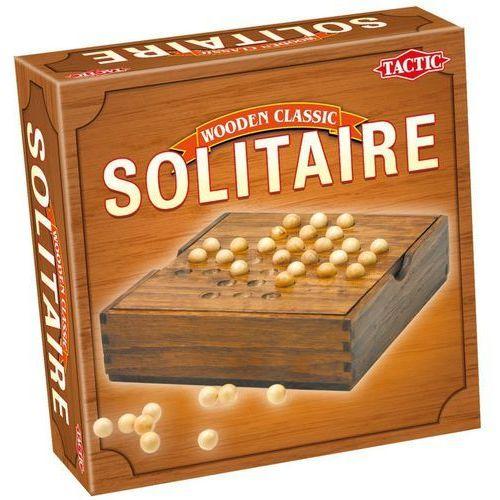 Gra solitaire wooden classic 14025 marki Tactic