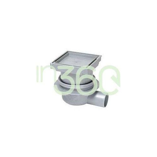 Kessel System 100 Wpust łazienkowy Classic z pokrywą do przyklejania płytek 40150.66