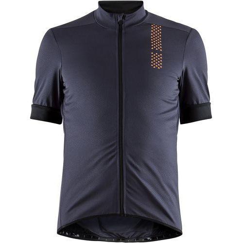 Craft koszulka rowerowa męska rise, ciemno-szary xl (7318572878457)