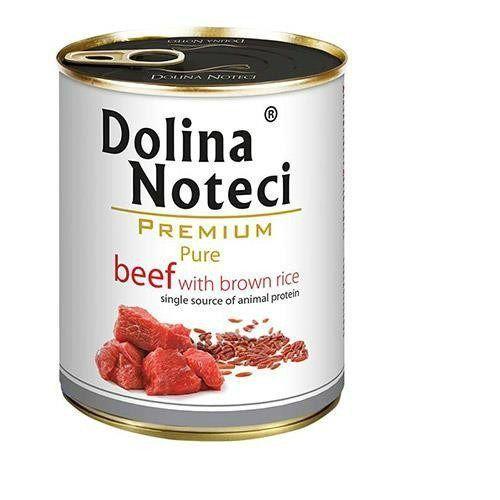 premium pure wołowina z ryżem brązowym 800 g marki Dolina noteci