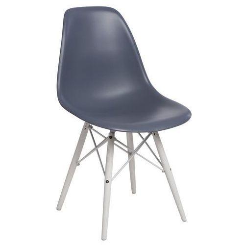 Krzesło p016w insp. dsw na białych nogach marki D2