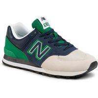 Sneakersy NEW BALANCE - ML574UPZ Granatowy Kolorowy