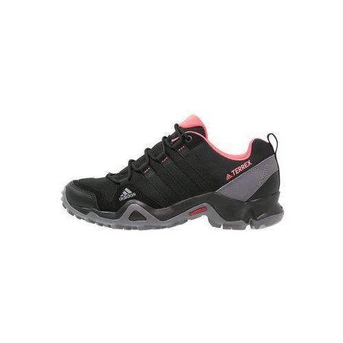 adidas Performance TERREX AX2R Półbuty trekkingowe core black/core black/tactile pink - produkt z kategorii- Trekking i Nordic walking