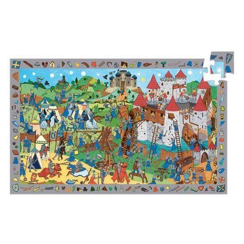 Djeco Puzzle observation 54 zamek rycerza (3070900075597)