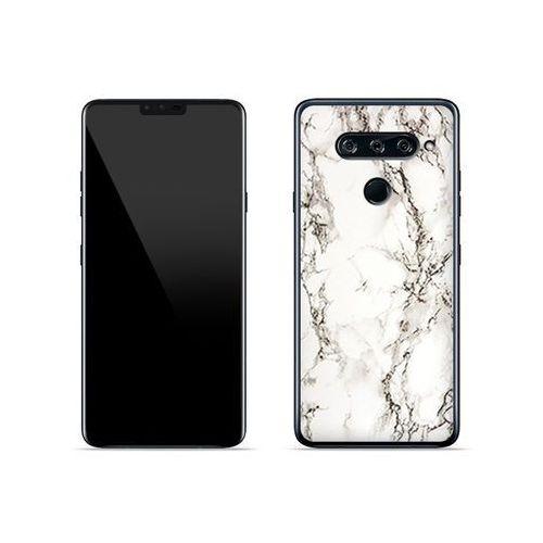 LG V40 ThinQ - etui na telefon Fantastic Case - biały marmur, ETLG813FNTCFC028000