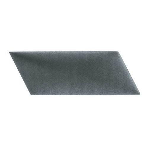 Panel ścienny tapicerowany mollis równoległobok 15 x 30 cm ciemnoszary l marki Stegu