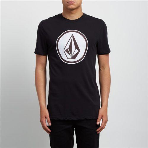 Koszulka - classic stone dd ss black (blk) rozmiar: l marki Volcom