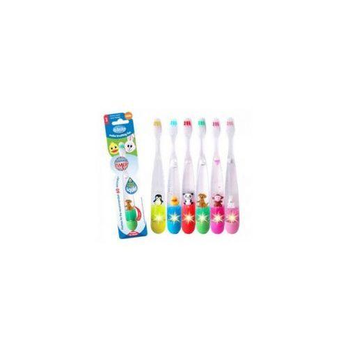 Świecąca szczotka do zębów dla dzieci ZWIERZAKI