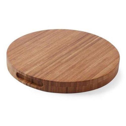 Hendi Drewniana deska do krojenia bamboo | okrągła | śr. 400x(h)35mm