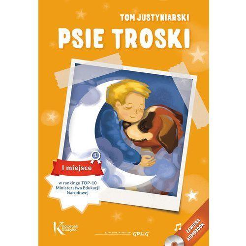PSIE TROSKI KOLOR OP.+ AUDIOBOOK GREG 9788375175745 + zakładka do książki GRATIS (9788375175745)
